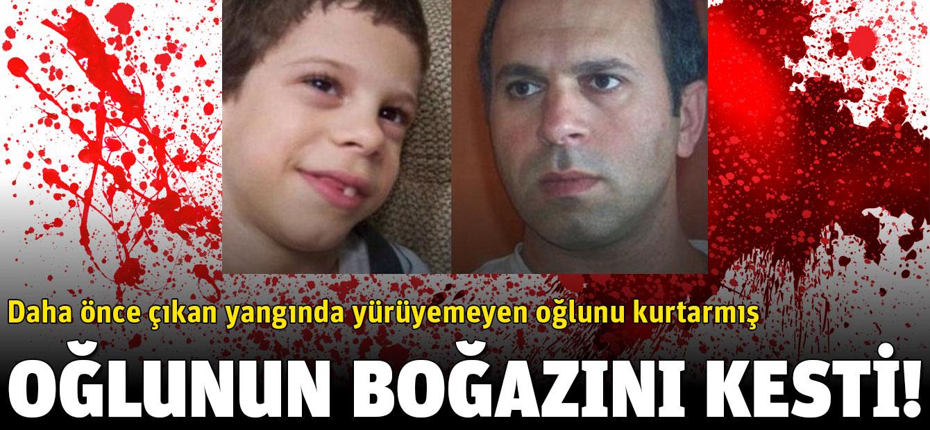 ABD'de yaşayan Fikri Erdem, oğlunun boğazını keserek öldürdü!