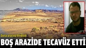 Liseli Kızı Boş Araziye Götürüp Tecavüz Etti