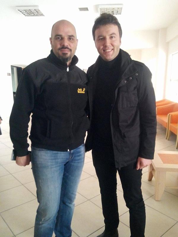 İki eski savaş muhabiri Konya'da buluştu