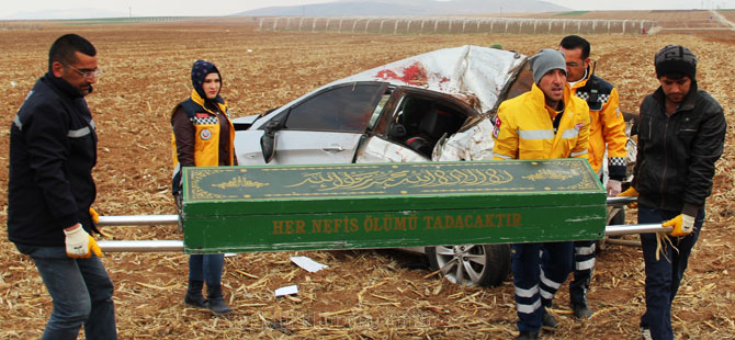 Karaman'daki kaza bir can aldı