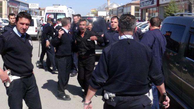 Aksaray'da taciz kavgası