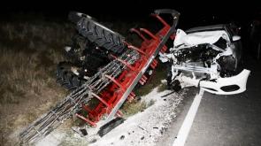 Kulu'da trafik kazası