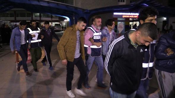 Konya'daki bıçaklı kavga: 8 gözaltı