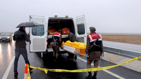 Konya'da kamyonun çarptığı işçi hayatını kaybetti
