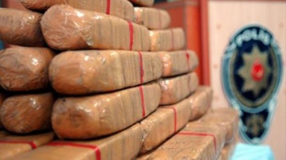 Karman Ereğli'de uyuşturucu operasyonu