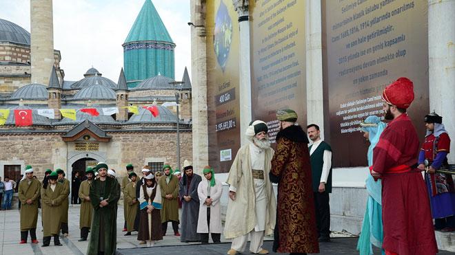 Mevlana'nın Konya'ya gelişi kutlamaları başlıyor