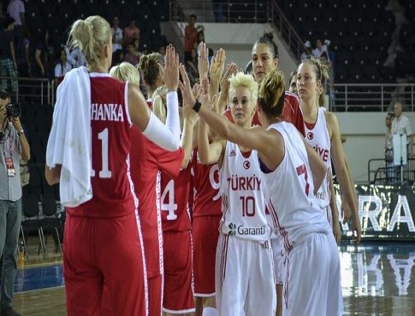A Milli Kadın Basketbol Takımı Belarus'la karşılaşacak
