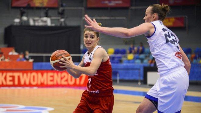 A Milli Kadın Basketbol Takımı çeyrek finalde