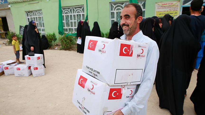 Türkiye en çok insani yardım yapan ikinci ülke