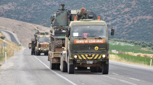 Sınırdaki askerlere kırmızı alarm verildi