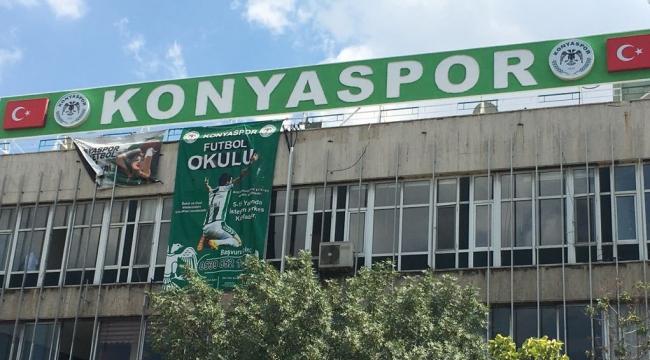 Konyasporun Zafer tesisleri bakımda