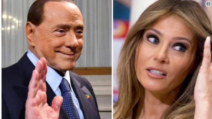 Berlusconi'nin son sözleri kriz çıkarır: Trump'ın nesi mi hoşuma gidiyor, eşi Melania