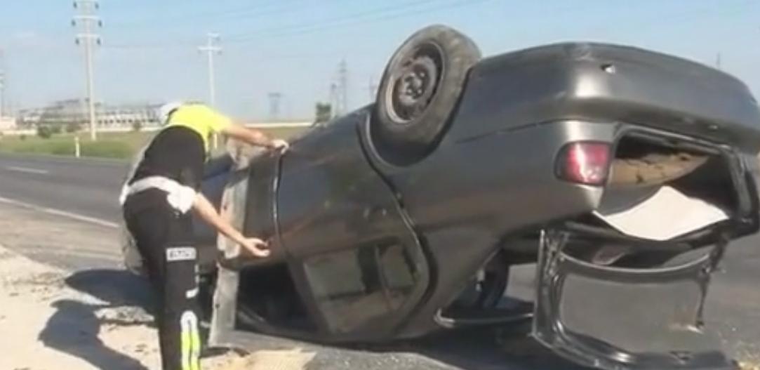 Bayram yolu kazasında: 6 yaralı
