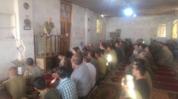 Zekai Paşa camide Mehmetçiğe seslendi !