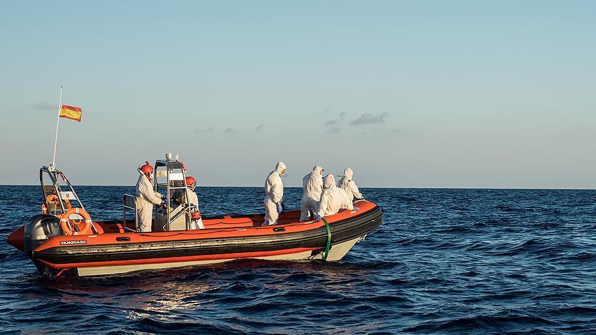 Akdeniz'deki düzensiz göç akını yoğunlaştı