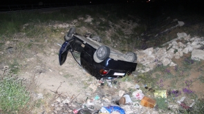 Karaman'da Bayram dönüşü kaza: 5 yaralı
