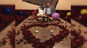 Hem evlilik hem doğum günü sürprizi