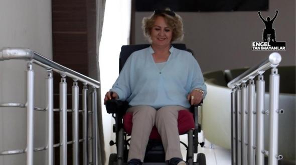 Engelleri aşıp 'engellilerin' umudu oldu