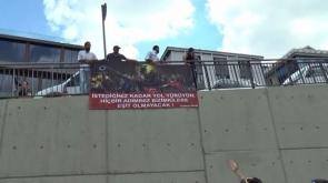 Kılıçdaroğlu'na büyük şok! Öyle bir pankart açtılar ki...