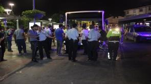 Belediye otobüsü yolcuların arasına daldı: 5 yaralı