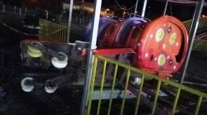 Lunaparkta feci kaza: 1 ölü, 1'i ağır 4 yaralı