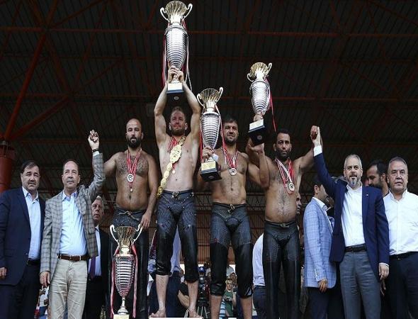 Yağlı güreşe Antalya damgası