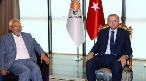 Cumhurbaşkanı Erdoğan, Nahda Hareketi lideri Gannuşi'yi kabul etti