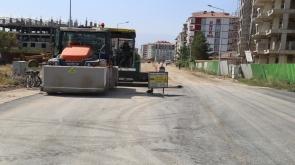 Ereğli'de, asfalt çalışmaları devam ediyor