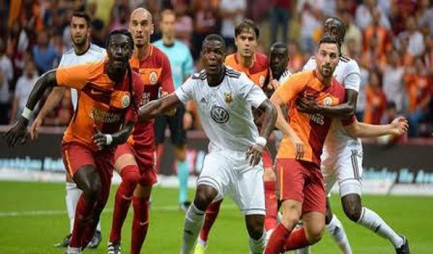 Galatasaray - Östersunds: 1-1