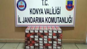 Yolcu otobüsünde 640 paket kaçak sigara ele geçirildi