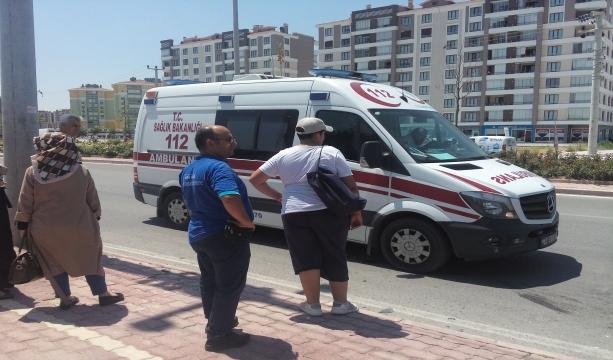 Konya Selçuklu'da  kaza: 1 kişi yaralandı