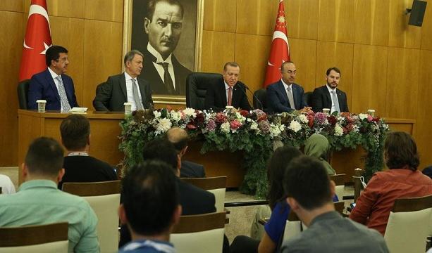Erdoğan: Harem-i Şerif tüm İslam aleminin onurudur