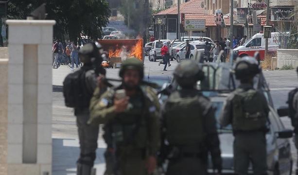Gösterilere İsrail askerleri müdahale etti