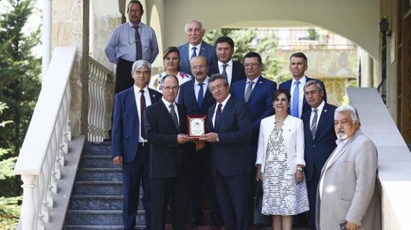CHP heyetinden Filistin'in Ankara Büyükelçiliğine destek ziyareti