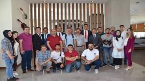 Gazeteciler Novotel'de buluştu