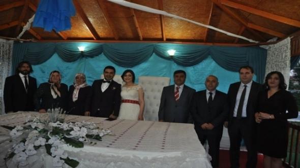 Ali İhsan Yalçın oğlunu evlendirdi