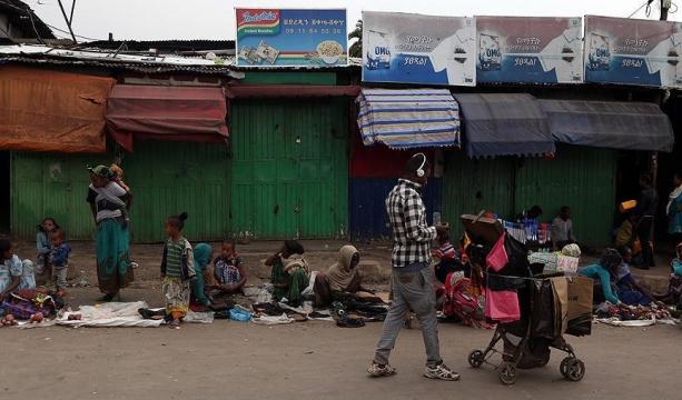 Afrika'nın en büyük pazarında kepenkler indi