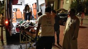PKK/PYD saldırısında yaralanan Suriyeliler Türkiye'ye getirildi