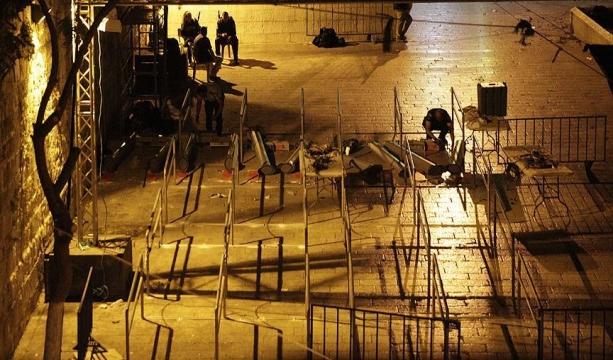 Aksa'daki dedektörler kaldırıldı