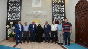 15 Temmuz'un sembolu Şerife Boz'an Rektör Şahin'e ziyaret