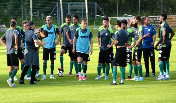 Mustafa Akçay takımdan çok memnun