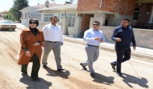 Meram'da yol çalışmalarına tüm hızıyla devam ediliyor