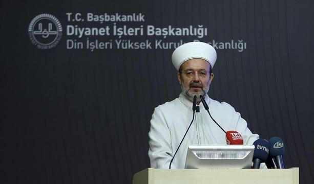 Diyanet İşleri Başkanı Görmez, Dinayet'in FETÖ Raporunu Açıklıyor