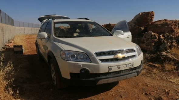 Konya'da çalınan lüks araç Midyat'ta bulundu