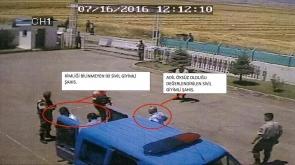 Öksüz'ün jandarma karakoluna getirilmesine ilişkin görüntüler ortaya çıktı