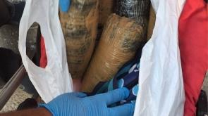 Konya'da bebek arabasında 4 kilogram esrar bulundu