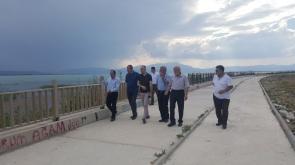 Beyşehir DSİ heyetini misafir etti