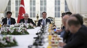 Başbakan Yıldırım, Alman şirketlerinin yöneticileri ile görüştü