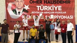Sabriye Gür Türkiye Şampiyonu