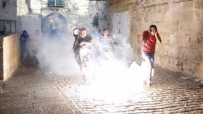 İsrail yine saldırdı! İşte ilk görüntüler